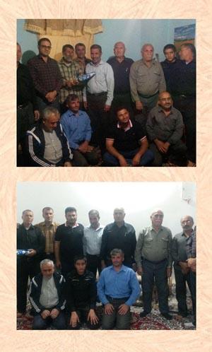 دیدار اعضای پایگاه مقاومت سید مصطفی خمینی (ره) با رزمندگان گرامی هشت سال دفاع مقدس