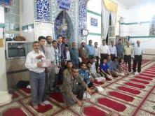 پایان مراسم معنوی اعتکاف در تربر جعفری با حضور حجت الاسلام عزیزی