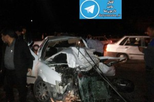 گزارش کامل به همراه عکسهای تصادف وحشتناک جاده شیراز-داریون/۱۰ کشته و مجروح