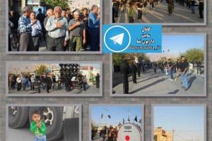 تصاویری از روز تاسوعا در داریون