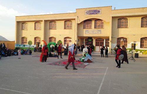 مراسم تعزیه خوانی در روز تاسوعای حسینی در شهر داریون