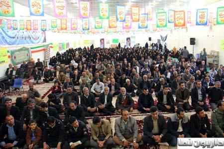 مراسم یادواره ۷۸شهید منطقه داریون برگزار شد+تصاویر