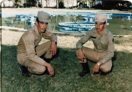 با شهدای منطقه داریون | سرباز شهید عبدالرحمان زالی