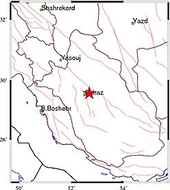 زلزله داریون را لرزاند