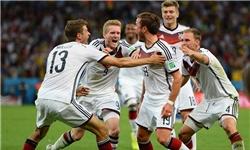آلمان قهرمان جهان شد