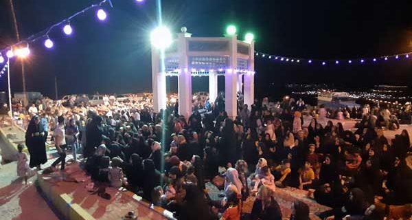 مراسم شب جشن عید غدیر در داریون/تصاویر
