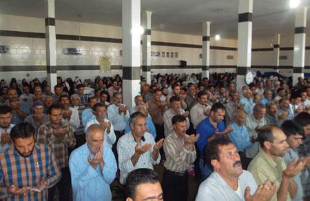 نماز عید فطر در تربر جعفری