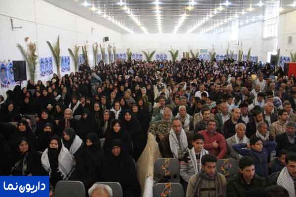 یادواره بزرگ ۸۶ شهید منطقه داریون با شکوه خاصی برگزار شد/تصاویر